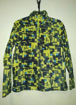 Флисовый свитер