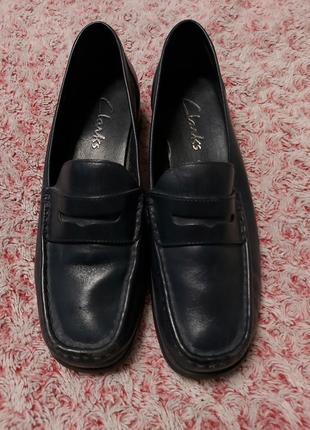 Туфли кожаные кларк clark's 38 размер цена распродажи  180 гр   .классные туфли