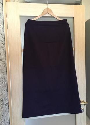 Фиолетовая длинная макси - юбка (бесплатная доставка)