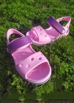 Crocs crocband sandals р.20-35