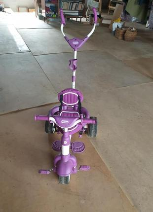 Дитячий велосип з ручкою