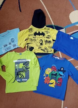 Реглан  на мальчика набор 6-8 лет кофьа футболка с длинным рукавом