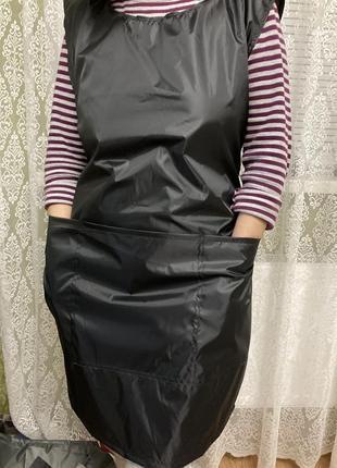 Фартук закрывающий одежду спереди и сзади