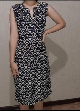 Шикарное платье со стразами next