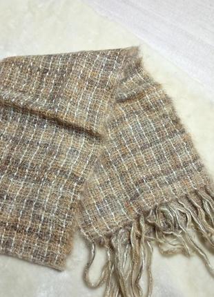 Теплый шарф .  шарф фирменный
