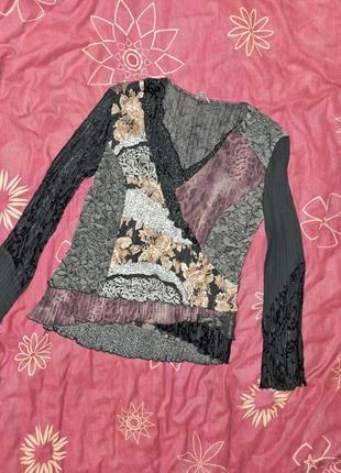 Шикарная блуза 14-16/42-44/m-l&