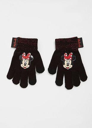 Перчатки george с минни-маус