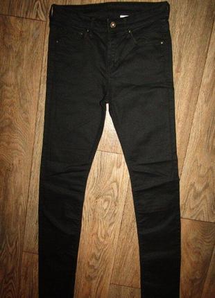 Тонкие джинсы брюки унисекс  маленький р-р h&m