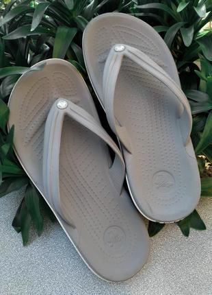 Вьетнамки crocs m6 w8 38-39 размер