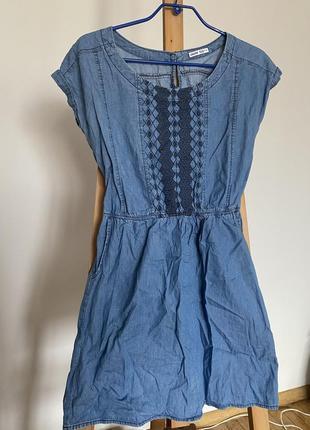 Платье джинсовое xs