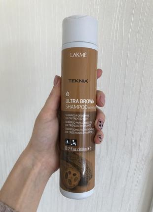 Lakme teknia ultra brown shampoo - шампунь