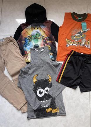 Набор одежды для мальчика лот на 8 лет