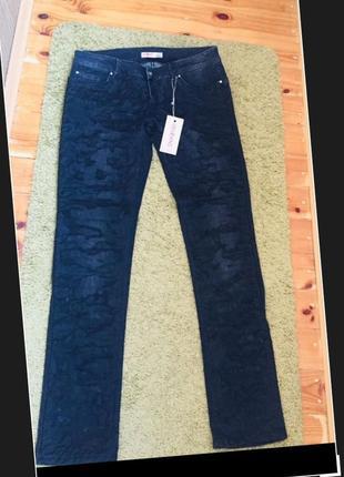 Liu jo оригинал новые стильные джинсы красиво украшены