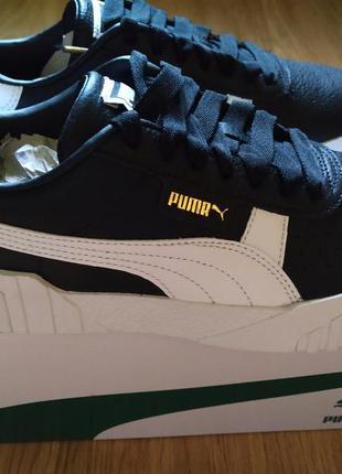 Кроссовки кожаные puma оригинал!