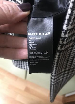 Пальто демисезонное karen millen5 фото