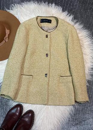 Стильный пиджак размер l