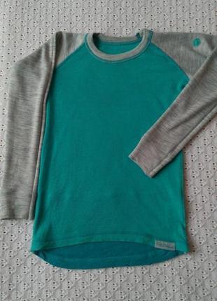 Термореглан з мериносової шерсті термо футболка лонгслив термобілизна термобелье