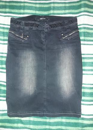 Юбка джинсовая бренд