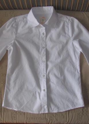Рубашка joe  школьная на 8 лет