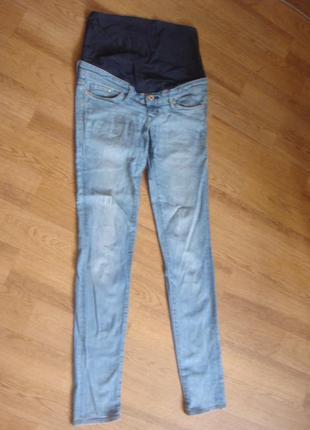 Denim h&m джинсы для беременной размер 34