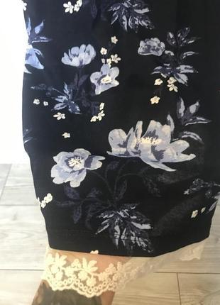 Блуза с кружевом от hm3 фото