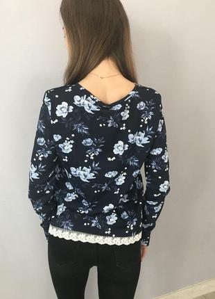 Блуза с кружевом от hm4 фото