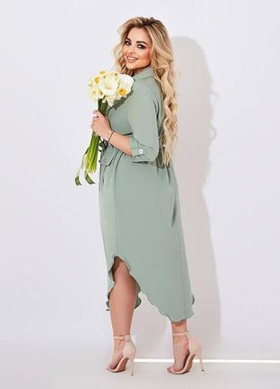 Красивое платье батал2 фото