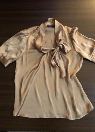 Атласна блуза zara