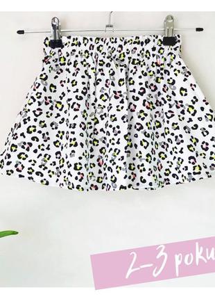 Спідниця idexe з леопардовим принтом, 2-3 роки / юбка
