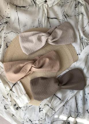 Широкая повязка на голову/для волос/тюрбан/чалма