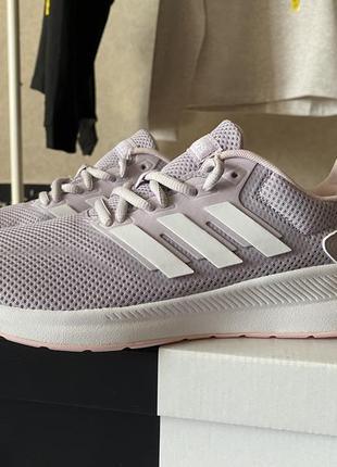 Беговые кроссовки для бега фитнеса adidas runfalcon сиреневые
