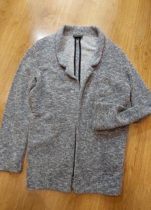 Повседневный  пиджак жакет кардиган