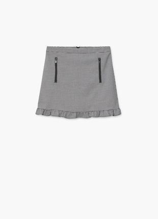 Актуальная мини юбка mango