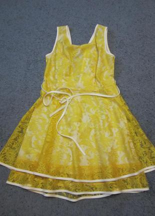 Нарядное летнее платьице