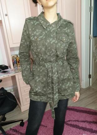 Куртка плащ пиджак камуфляж