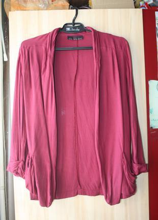 Блейзер пиджак марсала бордо стильный