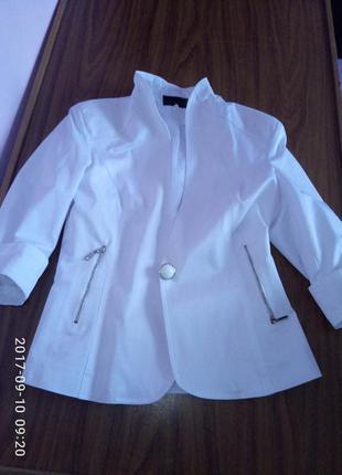 Піджак білий