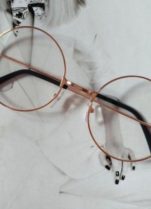 Очки прозрачные стильные