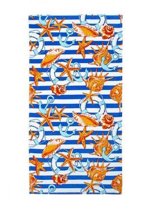 Полотенце пляжное велюр