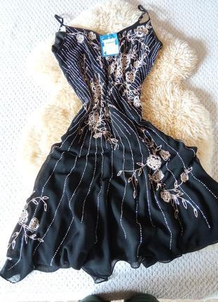 Святкова легка вечірня сукня