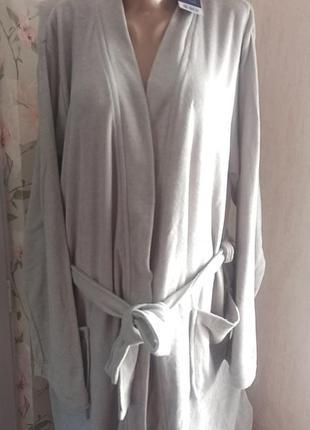 Натуральный махровый облегченный мужской халат кимоно miomare германия р. l