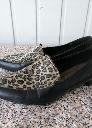 Кожаные туфли, лоферы фирмы tamaris