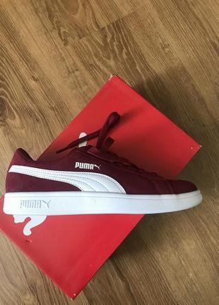 Кроссовки сникерсы puma smash v2 suede sneakers