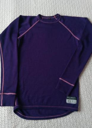 Термореглан з мериносової вовни термо футболка термобілизна термобелье шерсть мериноса