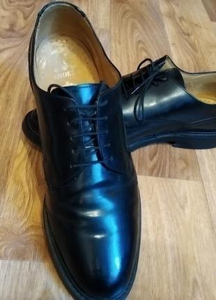 Кожаные туфли. стильная классика!!!