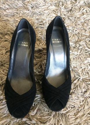 Замшевые туфли  stuart weitzman
