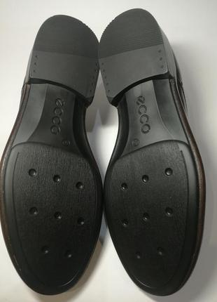 Кожаные туфли броги экко ecco vitrus artisan i оригинал р.46 новые португалия8 фото
