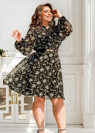 Яскрава та жіночна сукня + безкоштовна доставка новою поштою