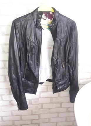 Курточка кожаная размер м-л