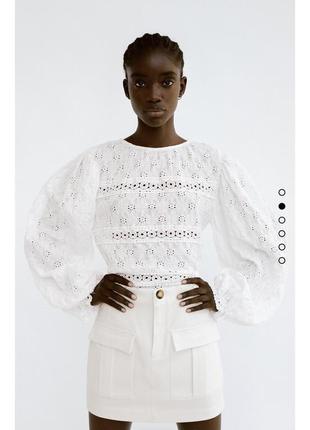 Нова блуза zara із кружева